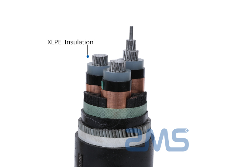 XLPE insulated
