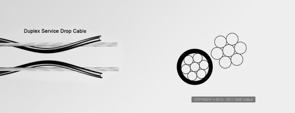 Duplex-Service-Drop-Wire