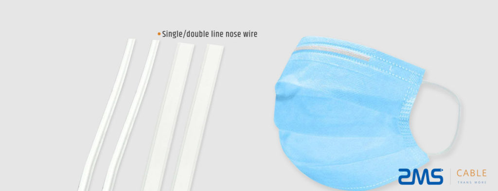 Single or Double Line Nose Wire