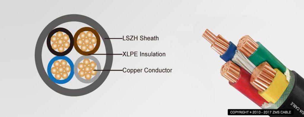 LSZH-Sheath-power-cable
