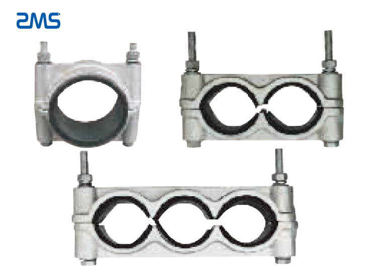High-Voltage Overhead Line Fixing Cleats